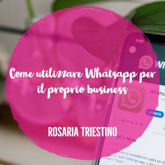 whatsapp per il proprio business