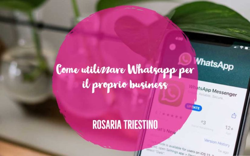 whatsapp per il proprio business