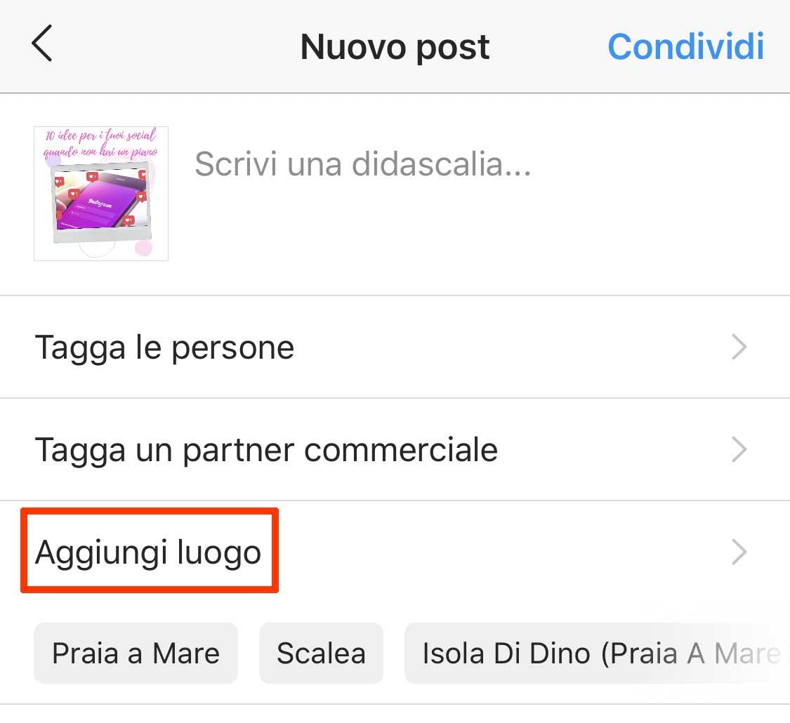 geotag instagram